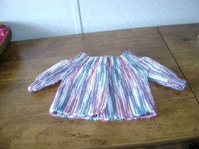 Knitted Baby Sweater