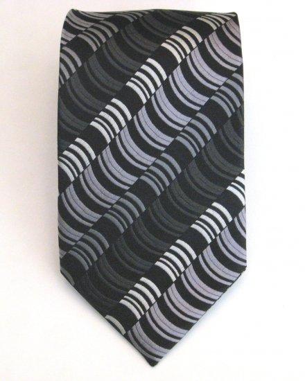 Wave Stripe Silk Tie