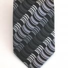 Wave Stripe Silk Tie