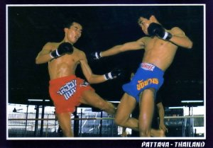 Muay Thai (Thai Boxing) Postcard