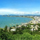 Pattaya Bay postcard
