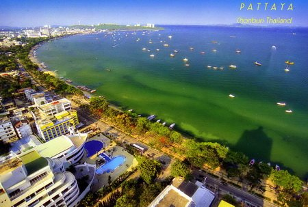 Pattaya city postcard (841)