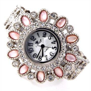 Semi-Precious Stone Watch Cuff
