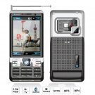 New! TV phone Quad Band dual Sim cards dual stand by and dual bluetoot