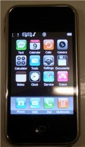 UNLOCKED TOUCH SCREEN PDA CELL PHONE QUADBAND DUAL SIM I9