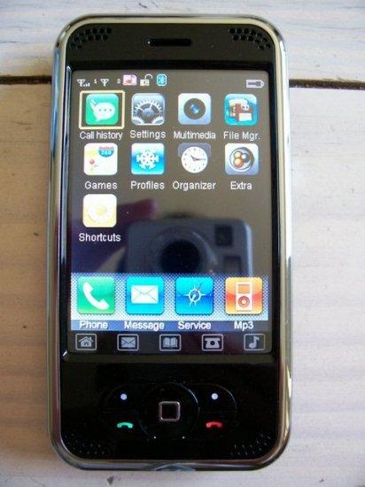 UNLOCKED TOUCH SCREEN PDA CELL PHONE QUADBAND DUAL SIM P168C