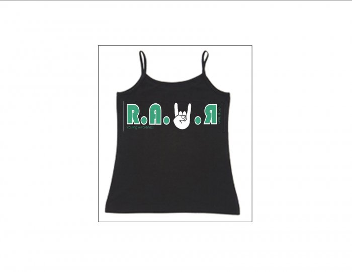 Womens Thin Strapped Tank - Jade