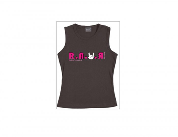 Womens Thick Strapped Tanks - Pink