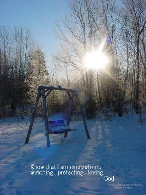 "I AM EVERYWHERE**CHRISTIAN INSPIRATIONAL**8""x10"""