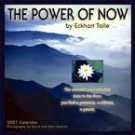 THE POWER OF NOW 2007 WALL CALENDAR