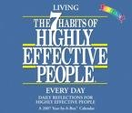 THE 7 HABITS OF HIGHLY EFFECTIVE PEOPLE 2007 DAILY BOXED CALENDER