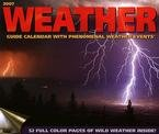 WEATHER GUIDE 2007 WALL CALENDAR