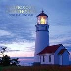PACIFIC COAST LIGHTHOUSES 2007 DELUXE WALL CALENDAR