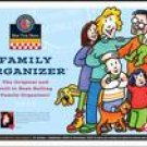 FAMILY ORGANIZER 2007 DELUXE WALL CALENDAR-FREE SHIPPING!