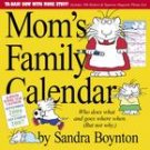 MOM'S FAMILY 2007 WALL CALENDAR