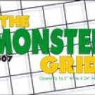 THE MONSTER GRID 2007 DELUXE WALL CALENDAR