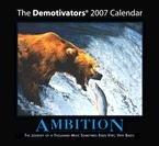 DEMOTIVATOR 2007 WALL CALENDAR