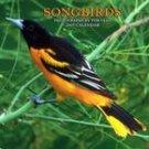 SONGBIRDS 2007 WALL CALENDAR