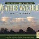OLD FARMER'S ALMANAC WEATHER WATCHERS 2007 WALL CALENDAR
