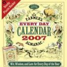 OLD FARMER'S ALMANAC 2007 DESK CALENDAR