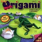 EASY ORIGAMI FOLD A DAY 2007 DESK CALENDAR-FREE SHIPPING
