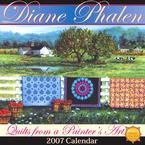 QUILTS FROM A PAINTERS ART 2007 WALL CALENDAR