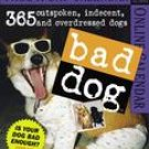 BAD DOG PAGE A DAY 2007 DESK CALENDAR