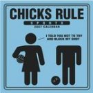 CHICKS RULE 2007 WALL CALENDAR