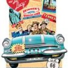 I LOVE LUCY 2007 FUN SHAPED WALL CALENDAR