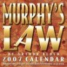 MURPHY'S LAW 2007 DESK CALENDAR