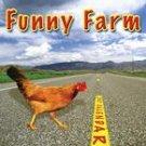 FUNNY FARM 2007 WALL CALENDAR-FREE SHIPPING!