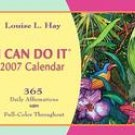 I CAN DO IT 2007 DESK CALENDAR