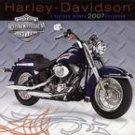 HARLEY-DAVIDSON-2007 WALL CALENDAR