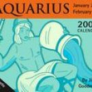 AQUARIUS-2008 MINI DESK CALENDAR