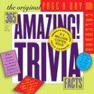 365 Amazing Trivia Facts Page-A-Day 2008 Desk Calendar