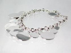 Solid Charm Bracelet
