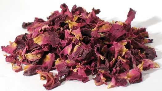 1lb Rose Red Buds & Petals