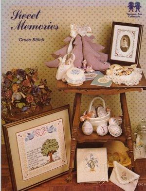 Vanessa-Ann Collection Sweet Memories Cross Stitch Book