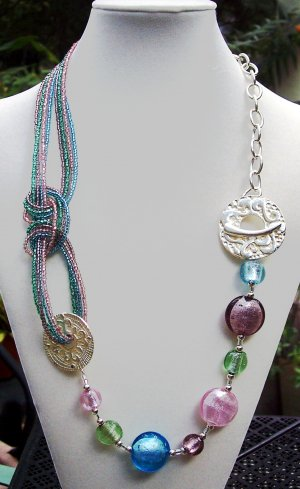 Knot Pastels Handmade Necklace