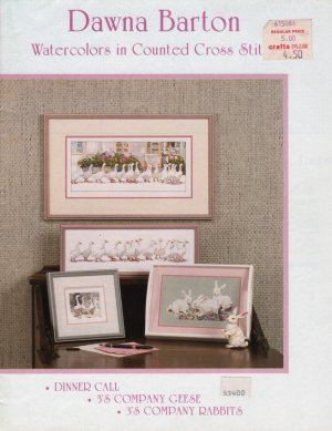 Dawna Barton Watercolors in Cross Stitch
