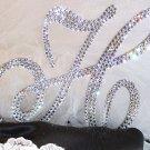 """Swarovski Crystal Cake Toppers 6"""""""