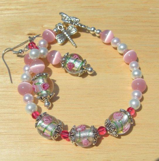 Pink Rose N Pearl