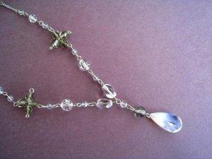 Swarovski Air Opal Drop Necklace