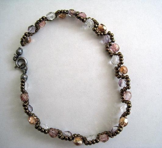 Czech Beads four colors Bracelet