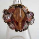 Gorgeous Glass beads X Czech Beads Ring