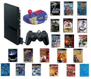 PS2 PS2 ACTION BUNDLE 35+ GAMES AND MORE.