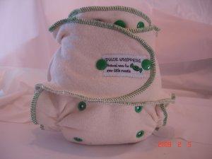 One Size Organic Natural Hemp Diaper