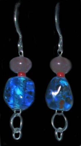A Splash of Color Clip-On Earrings