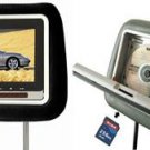 HEADREST LCD SCREEN W/ BUILT IN DVD PLAYER