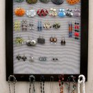 NEW Big Size Dark Brown Jewelry Display Frame